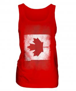 Canada Faded Flag Ladies Vest