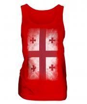 Georgia Faded Flag Ladies Vest