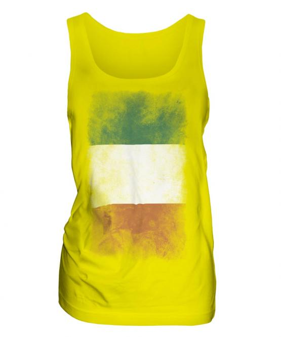 Ireland Faded Flag Ladies Vest