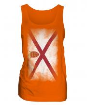 Jersey Faded Flag Ladies Vest