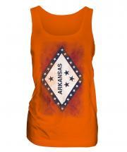 Arkansas State Faded Flag Ladies Vest