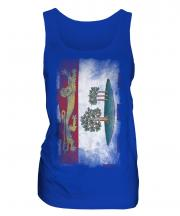 Prince Edward Island Faded Flag Ladies Vest