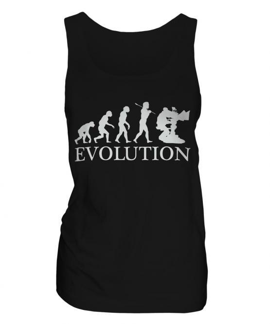 Television Cameraman Evolution Ladies Vest