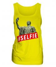 Gaius Julius Caesar Hashtag Selfie Ladies Vest