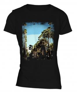 L.A. Grunge Print Ladies T-Shirt