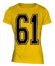 61 Collegiate Ladies T-Shirt