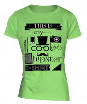 This Is My Cool Hipster T-Shirt Ladies T-Shirt