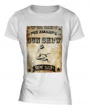 The Amazing Gun Show Ladies T-Shirt