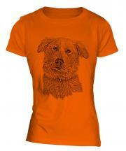 Aidi Sketch Ladies T-Shirt