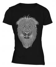 Lion Sketch Ladies T-Shirt