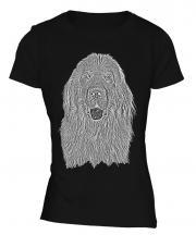 Newfoundland Sketch Ladies T-Shirt