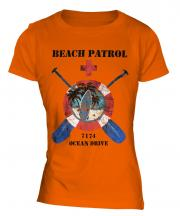 Ocean Drive Beach Patrol Ladies T-Shirt