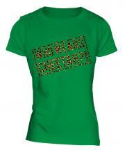 Who Wears Cheetah?! Ladies T-Shirt