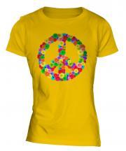 Flower Power Ladies T-Shirt