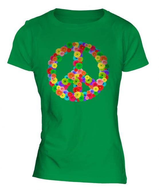 Flower Power Ladies T-Shirt