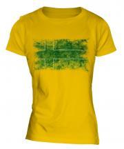 Ladonia Distressed Flag Ladies T-Shirt