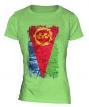 Eritrea Grunge Flag Ladies T-Shirt