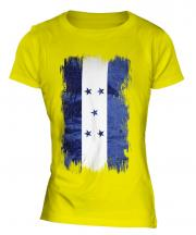 Honduras Grunge Flag Ladies T-Shirt