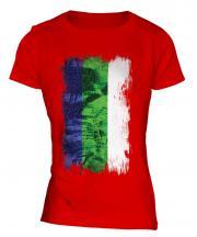 Komi Grunge Flag Ladies T-Shirt