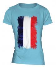 Los Altos Grunge Flag Ladies T-Shirt