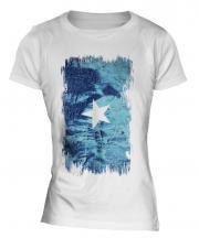 Somalia Grunge Flag Ladies T-Shirt