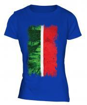 Tatarstan Grunge Flag Ladies T-Shirt