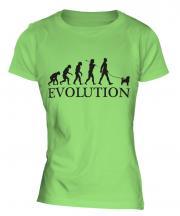 Affenpinscher Evolution Ladies T-Shirt