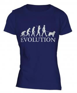 Australian Shepherd Evolution Ladies T-Shirt