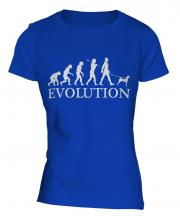 Basenji Evolution Ladies T-Shirt