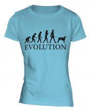 Borzoi Evolution Ladies T-Shirt
