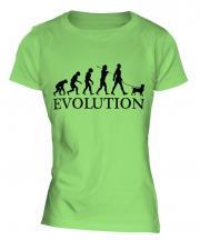 Brussels Griffon Evolution Ladies T-Shirt