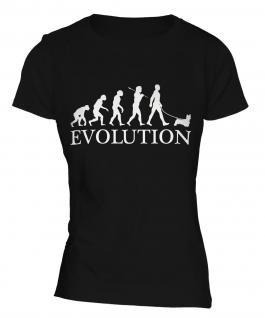 Cairn Terrier Evolution Ladies T-Shirt