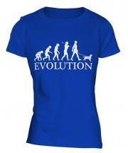 King Charles Spaniel Evolution Ladies T-Shirt