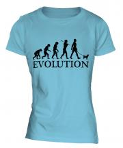 Chihuahua Evolution Ladies T-Shirt