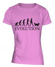 Collie Evolution Ladies T-Shirt