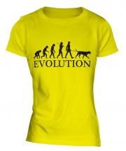 Dalmatian Evolution Ladies T-Shirt