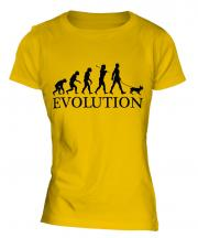French Bulldog Evolution Ladies T-Shirt