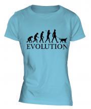 Gordon Setter Evolution Ladies T-Shirt