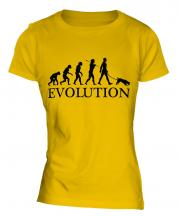 Jack Russell Terrier Evolution Ladies T-Shirt
