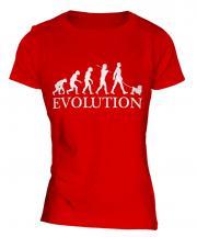 Lowchen Evolution Ladies T-Shirt