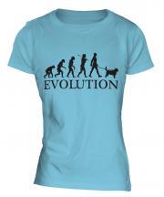 Otterhound Evolution Ladies T-Shirt