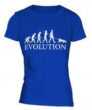Rhodesian Ridgeback Evolution Ladies T-Shirt
