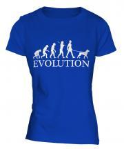 Rottweiler Evolution Ladies T-Shirt