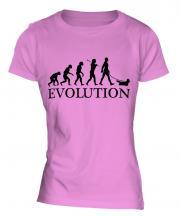 Skye Terrier Evolution Ladies T-Shirt