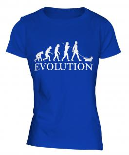 Skye Terrier Evolution Ladies T-Shirt