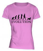 Sussex Spaniel Evolution Ladies T-Shirt