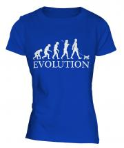 Toy Poodle Evolution Ladies T-Shirt