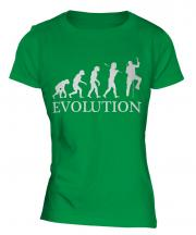 Ice Climber Evolution Ladies T-Shirt
