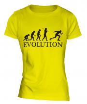 Speedskater Evolution Ladies T-Shirt