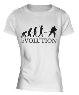 Ice Hockey Evolution Ladies T-Shirt